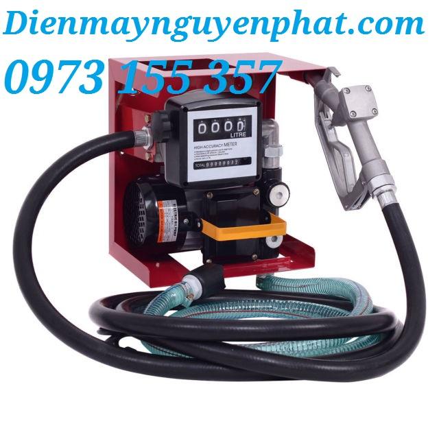 Bộ bơm dầu cấp phát NP8020 kèm đồng hồ đo lưu lượng