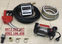 Bộ Kit bơm dầu NYB-40 -12/24V kèm đồng hồ kèm đồng hồ đo lưu lượng