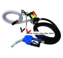 Bơm xăng dầu kèm đồng hồ đo lưu lượng