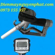 Cò bơm gắn đồng hồ đo lưu lượng NP-MG26