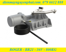 Cổng âm sàn Roger - BR21/351 – 36V - Công Nghệ Không Chổi Than