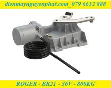 Cổng âm sàn Roger - BR21/362 – 36V - Công Nghệ Không Chổi Than
