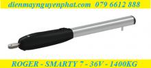 Cổng tay đòn Roger - Smarty7 - 36V - Công Nghệ Không Chổi Than