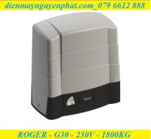 Cổng trượt Roger G30 - 230V - 1800kg