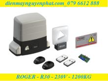 Cổng trượt Roger R30 - 230V - 1200kg
