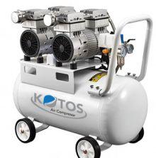 MÁY NÉN KHÍ KHÔNG DẦU GIẢM ÂM KOTOS (Model: HD1100*2-100L)